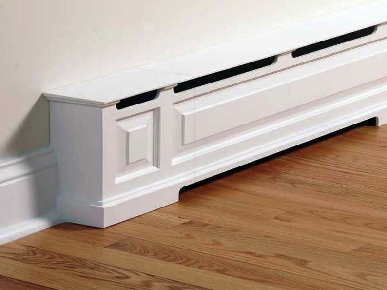 PEX manifold shabby chic cover cabinet