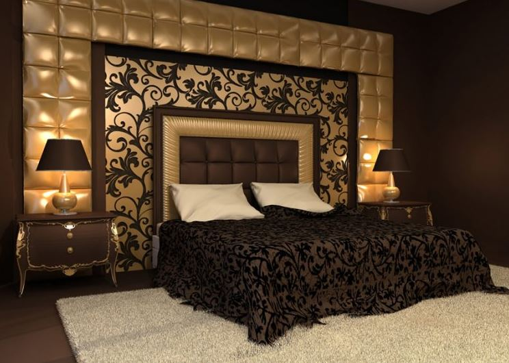 Black and gold bedroom ideas 2019