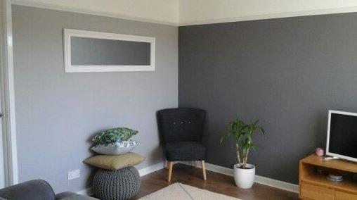 Chic Shadow Bedroom